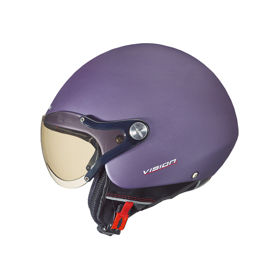 CASCO NEXX SX. 60 VISION PLUS PURPLE BLOCK MATE