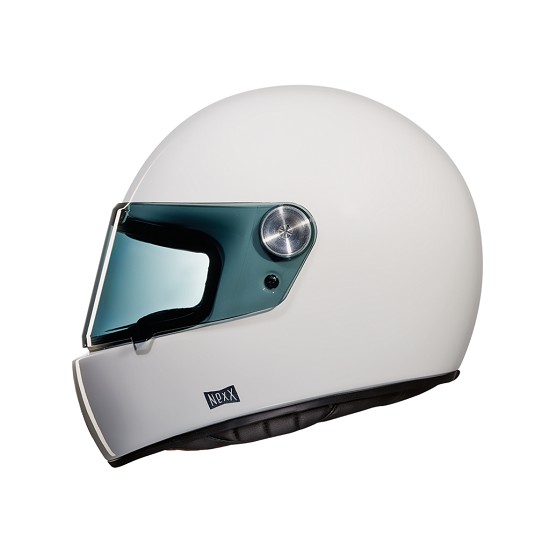 CASCO NEXX XG100 GARAGE RACER SOLID PLAIN BLANCO