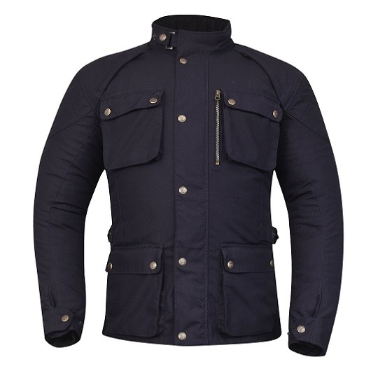 CHAQUETA DEGEND OXFORD AZUL