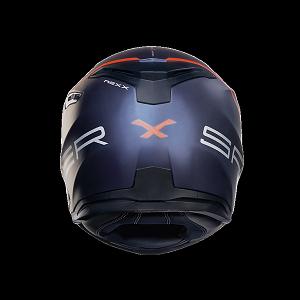 CASCO NEXX SX.100 SUPER SPEED NAVY AZUL NEON ROJO MATE