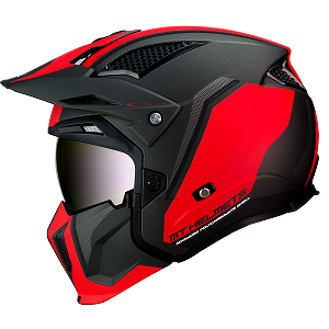 CASCO MT STREETFIGTHER SV TWIN ROJO