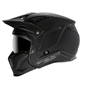 CASCO MT STREETFIGTHER SV NEGRO MATE