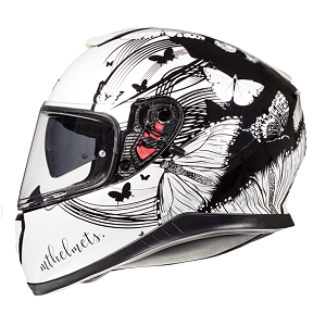 CASCO MT THUNDER 3 VLINDER BLANCO