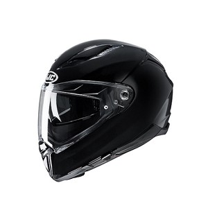 CASCO HJC F-70 NEGRO BRILLO